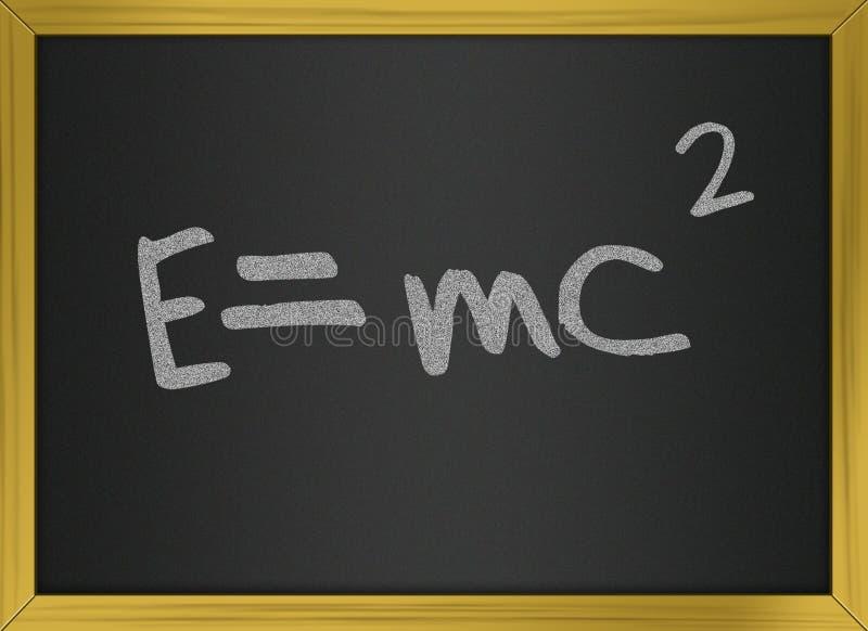 Download Einstein Formula Of Relativity On Blackboard Stock Illustration - Illustration of college, blackboard: 20713984