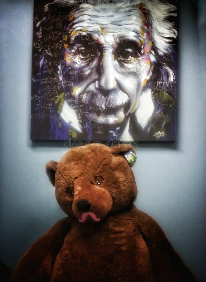 Einstein jak zdjęcie royalty free
