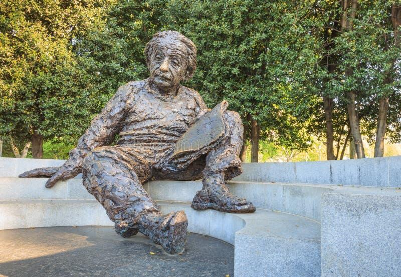 Einstein pomnika narodowa akademia nauk obrazy royalty free
