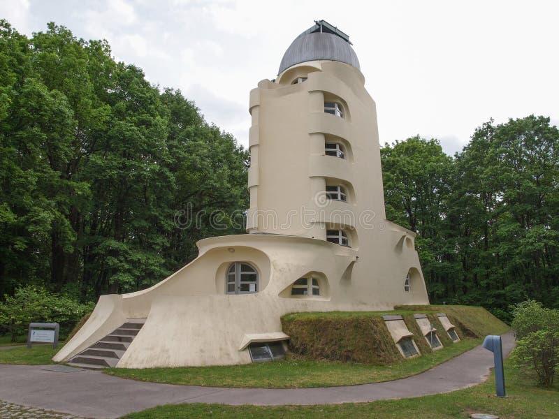 Einstein Turm w Potsdam obraz royalty free