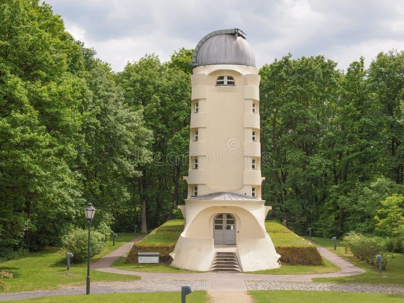 Einstein Turm w Potsdam fotografia stock