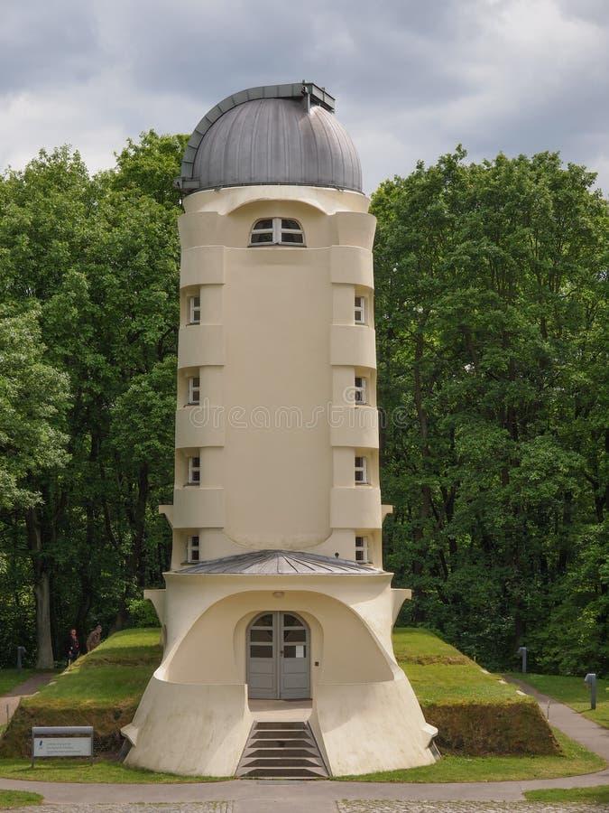 Einstein Turm w Potsdam zdjęcie stock