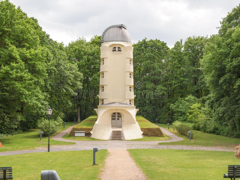 Einstein Turm w Potsdam fotografia royalty free