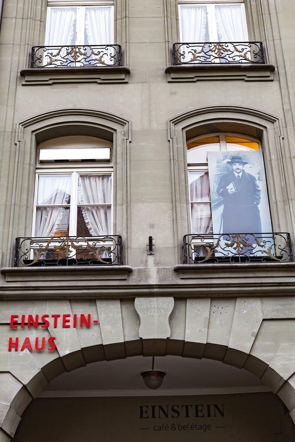 Einsteinhuis Bern royalty-vrije stock fotografie