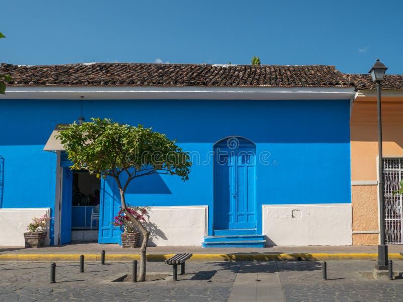 Einstiegstür in Granada lizenzfreies stockfoto