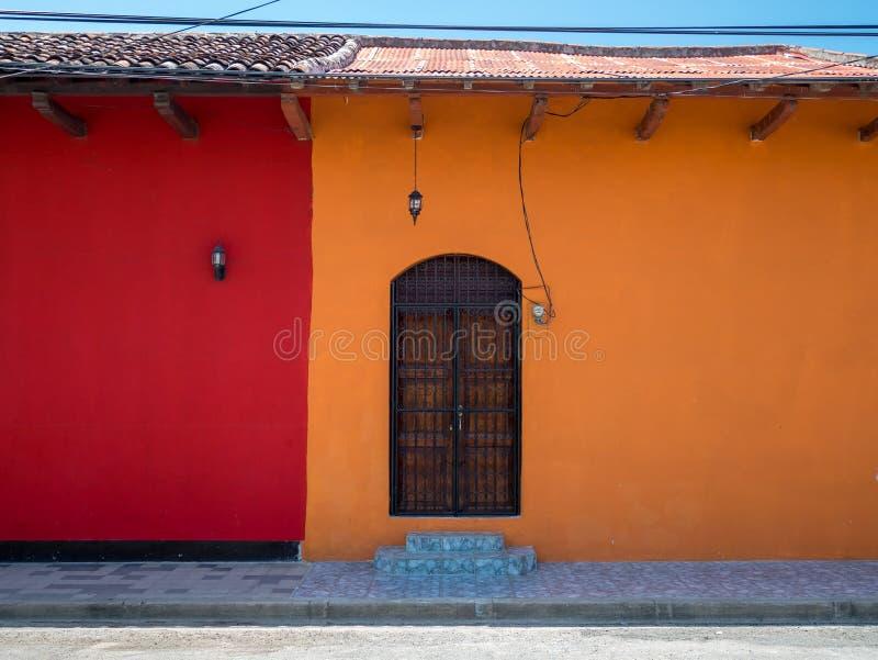 Einstiegstür in Granada stockbild