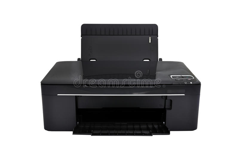 Einteiliger Drucker lizenzfreies stockfoto