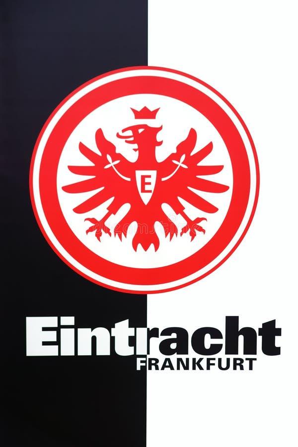 Eintracht Frankfurt da brasão ilustração stock