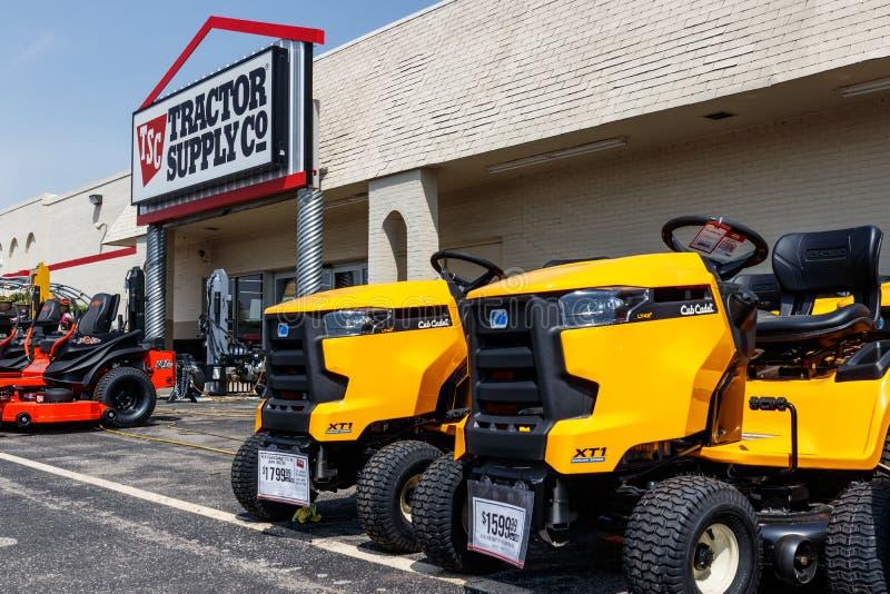 Einzelhandels-Standort Tractor Supply Company Traktor-Versorgung wird auf NASDAQ unter TSCO III aufgelistet lizenzfreie stockbilder