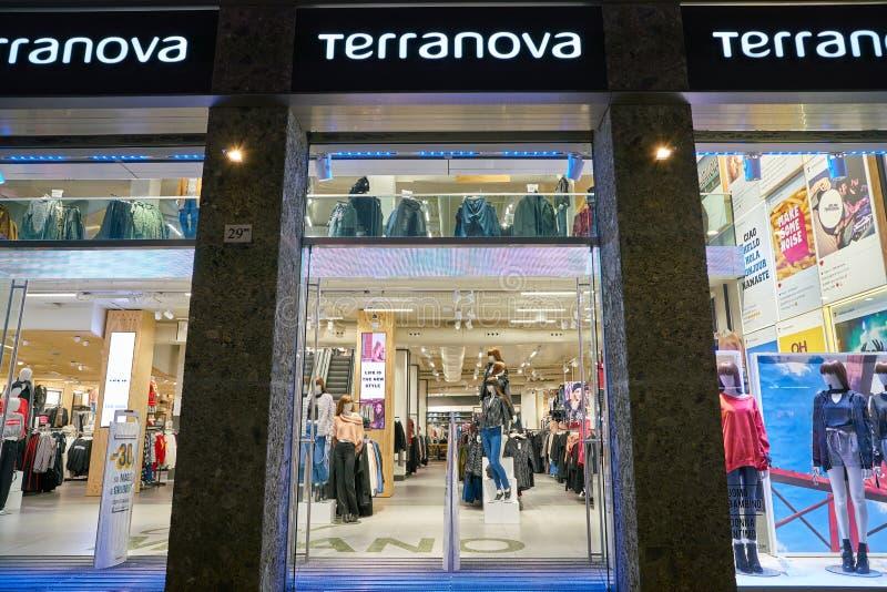 Einzelhandelsgeschäft der Kleidungs lizenzfreies stockbild