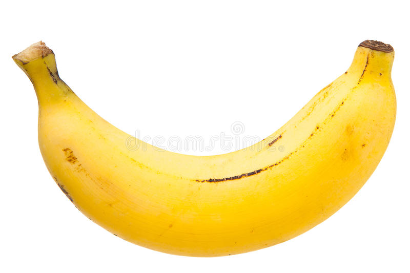 Einzelne Banane lizenzfreies stockfoto