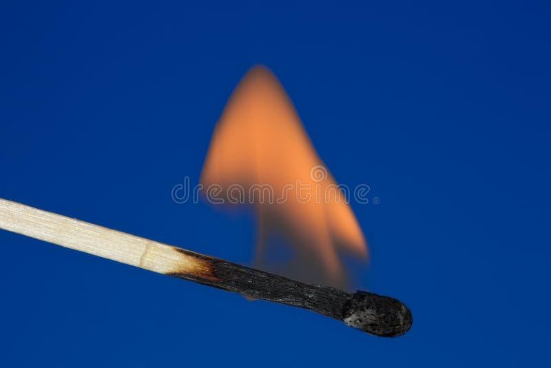 Einzelne brennende Abgleichung stockfotos