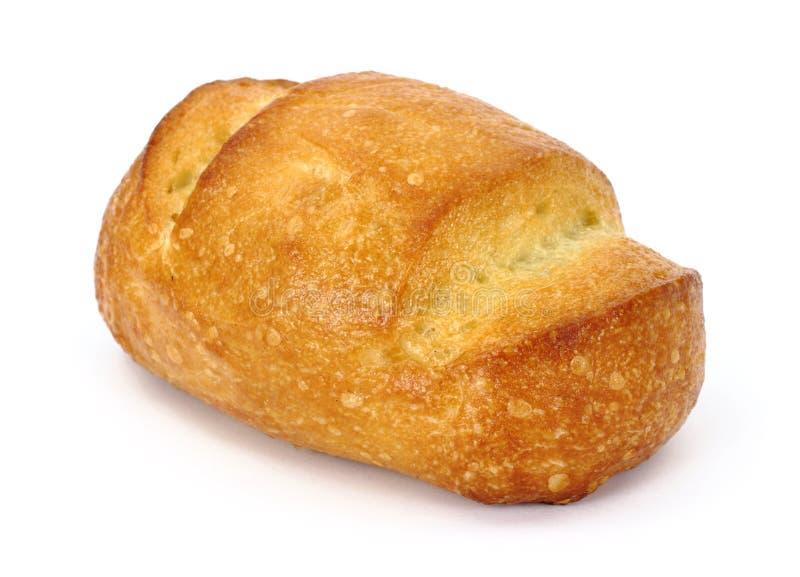 Einzelne Brotabendessenrolle stockbilder