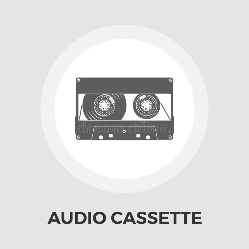 Download Einzelne Ikone Der Audiokassette Vektor Abbildung - Illustration von musik, studio: 90225212