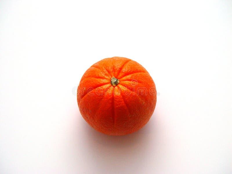 Einzelne Orange stockfoto