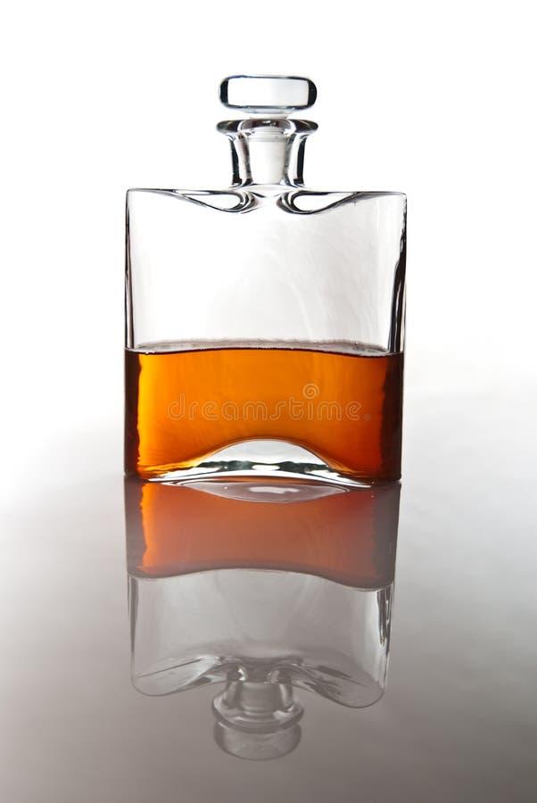Download Einzelner Carafe Des Schottischen Whiskys Oder Des Bourbons Stockfoto - Bild von alcohol, voll: 12202594