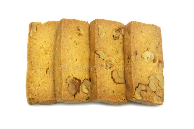 Einzelner Cracker der Kekse selbst gemacht, Quadrat und starker Entwurf lizenzfreie stockfotos