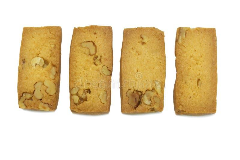 Einzelner Cracker der Kekse selbst gemacht, Quadrat und starker Entwurf stockfoto