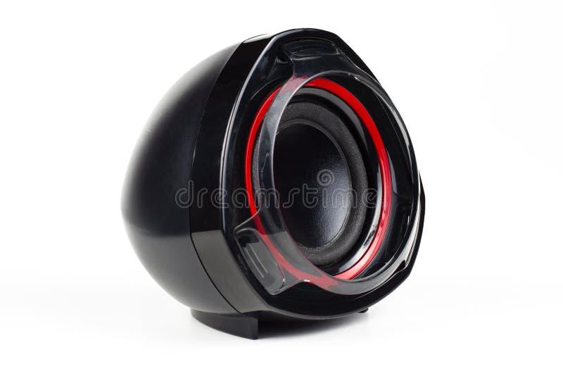 Einzelner Lautsprecher stockfoto