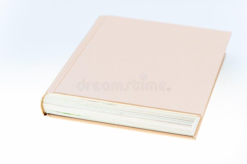 Einzelnes braunes Buch lizenzfreie stockbilder