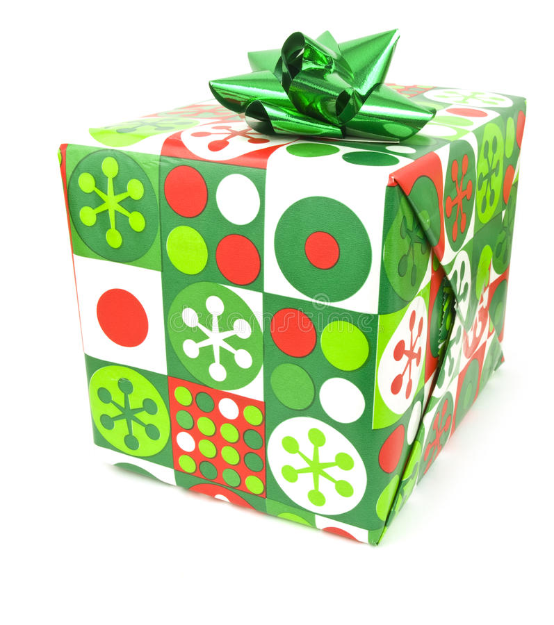 Einzelnes Geschenk stockfotografie