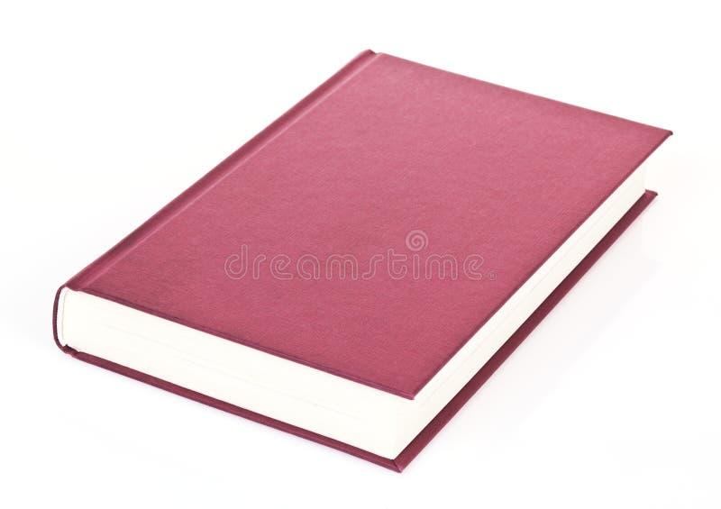 Einzelnes rotes Buch stockbilder