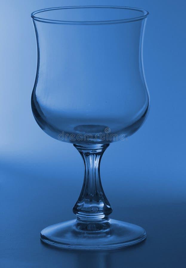 Einzelnes Weinglas lizenzfreies stockbild