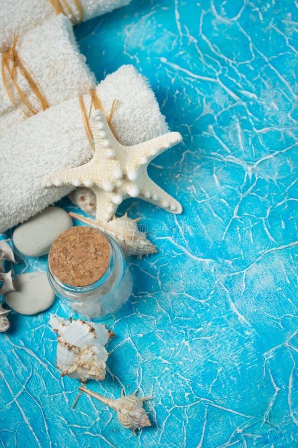 Einzelteile für Badekurort stockbilder