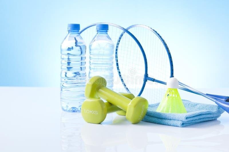 Einzelteile für gesunde körperliche Tätigkeit stockfotos