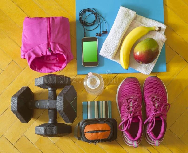 Einzelteile für Training oder Übung stockbild
