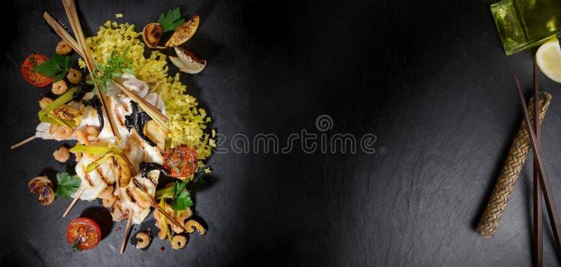 Einzig - Plattfisch-asiatische Art stockfoto