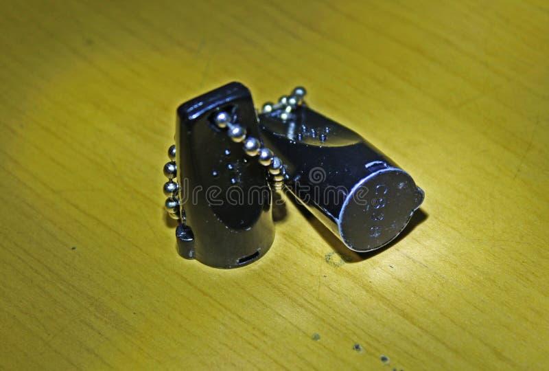 Einzigartiger magnetischer Schlüssel des Gepäcks lizenzfreies stockfoto