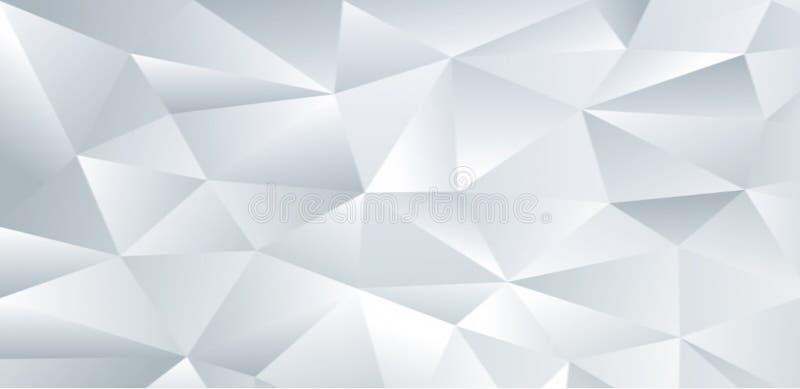 Einzigartiger weißer Hintergrund für den Desktop im gesamten Bildschirm! stock abbildung