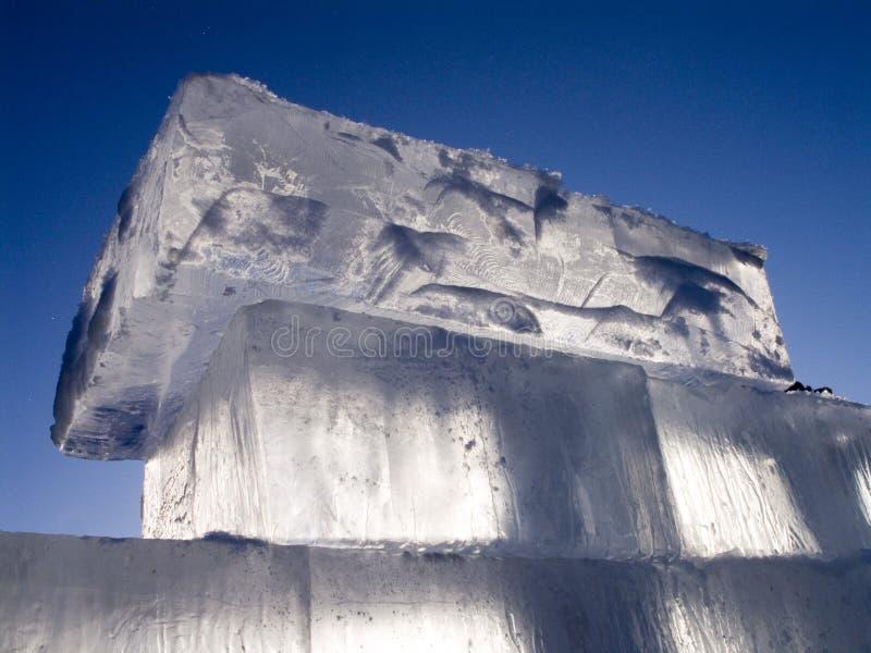 Eis lizenzfreies stockfoto