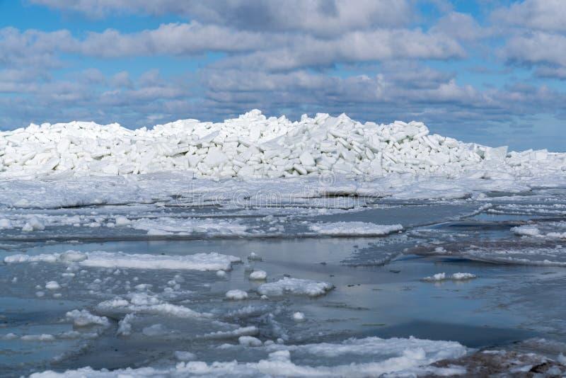 Eis-Berge stockbilder