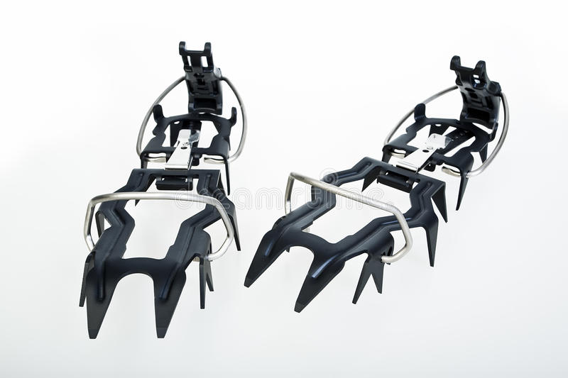 Eis Crampons stockfotos