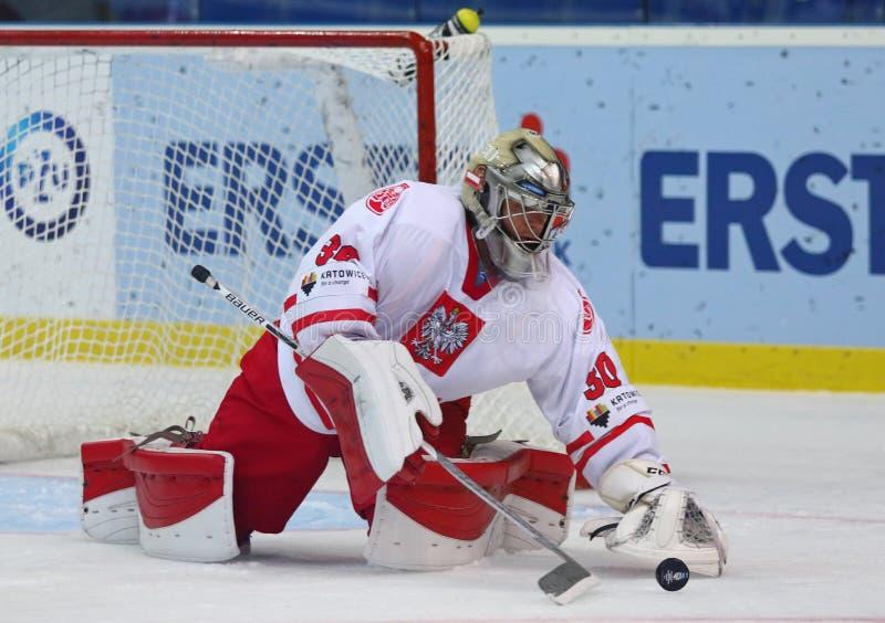 Eis-Hockey-Weltmeisterschaft 2017 Div. 1 in Kiew, Ukraine stockbild