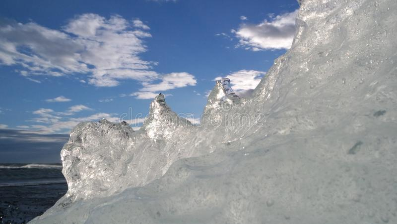 Eis-Land Scape - Island lizenzfreie stockfotos