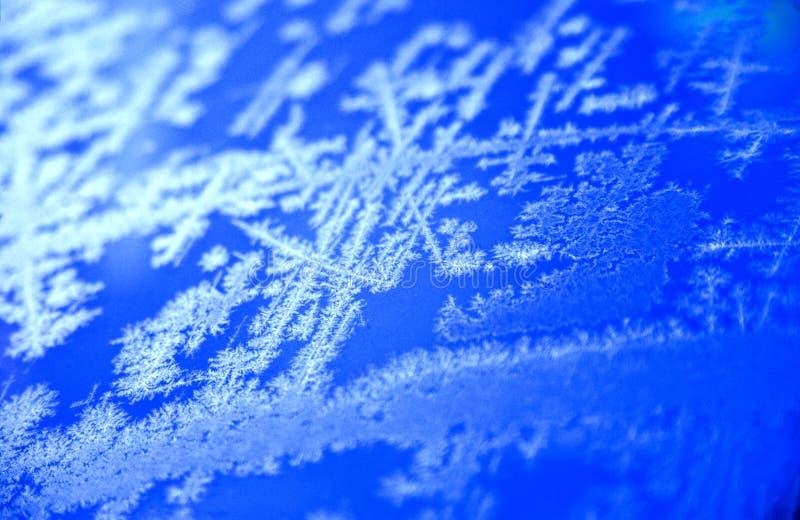 Eis-Muster stockbild
