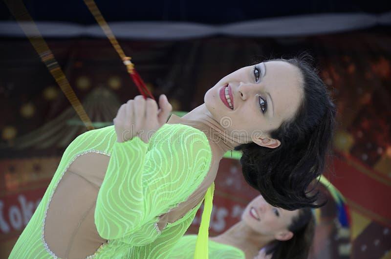 Eis-Strahlen-Theater-Zirkus-Generations-Show stockfotografie