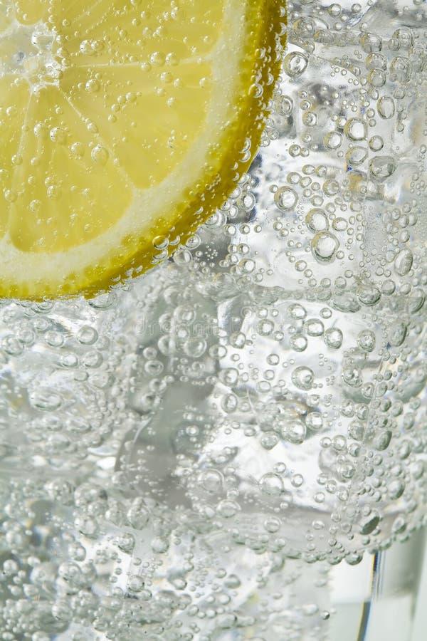 Eis und Zitrone stockbild