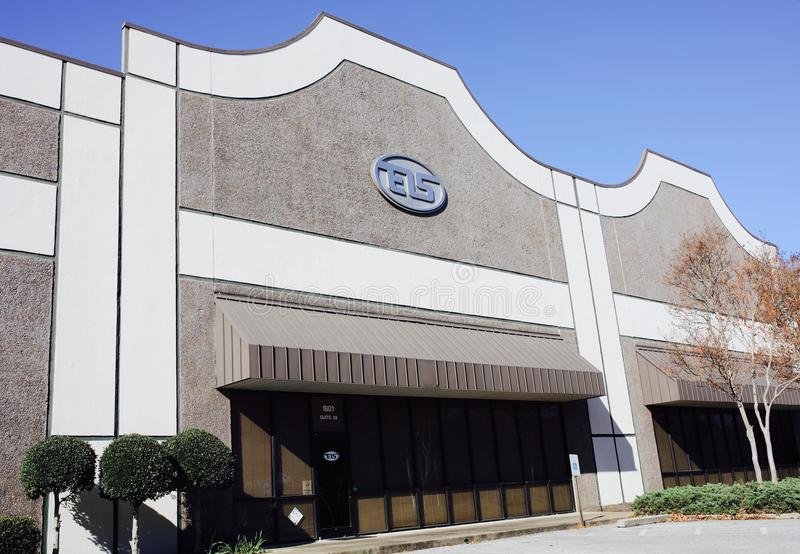 EIS Company, Memphis, TN. EIS is a wholly owned subsidiary of Genuine Parts Company GPC and one of North America`s leading distributors of process materials royalty free stock image