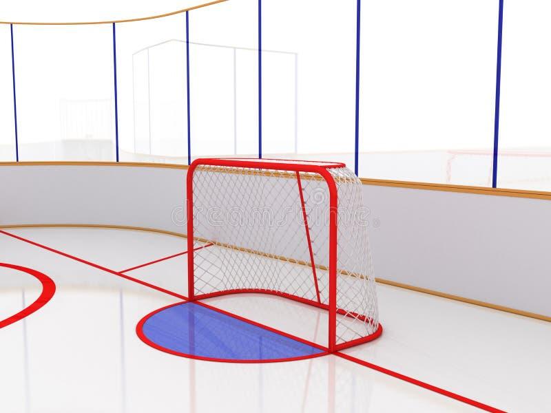 Eisbahnen auf einer weißen Oberfläche. #10 vektor abbildung