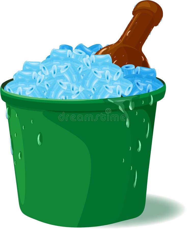 Eisbehälter Stockbild