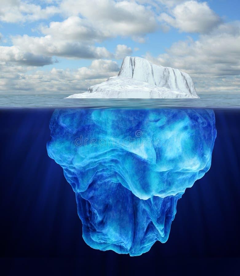 Eisberg lizenzfreies stockfoto