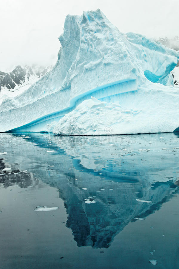 Eisberg in Antartica stockfoto