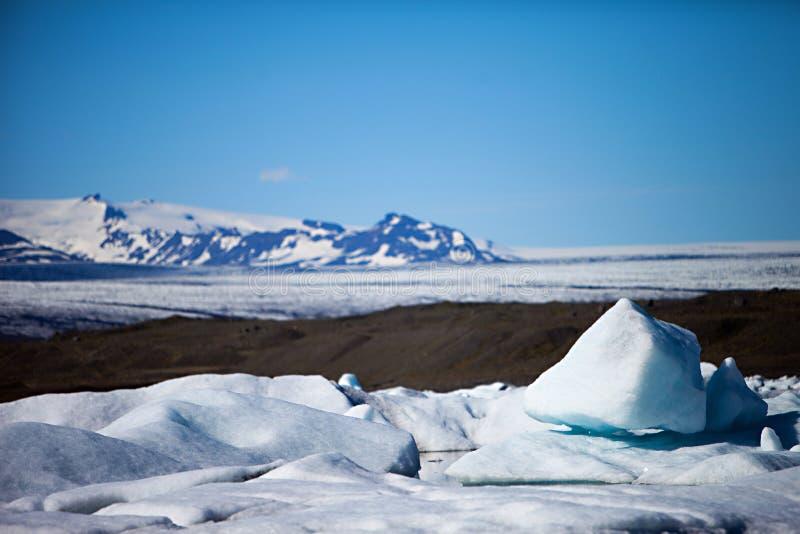Eisberg-Lagune, Island lizenzfreie stockfotos