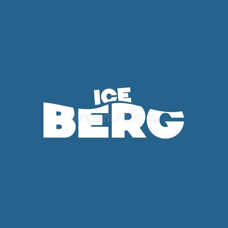Eisbergbegriffsbild lizenzfreie abbildung