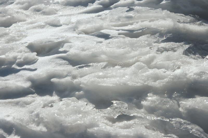Eisbeschaffenheit lizenzfreie stockbilder