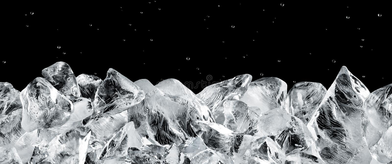 Eisblöcke lizenzfreie stockbilder